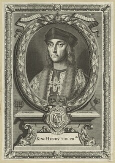King Henry VII, by Peter Vanderbank (Vandrebanc), after  Edward Lutterell (Luttrell) - NPG D23832