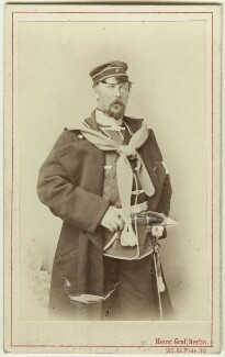 Frederick Charles, Prince of Prussia, by Heinrich Graf, 1875 - NPG x74606 - © National Portrait Gallery, London