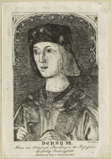 King Henry VII, by H. Growe - NPG D23846