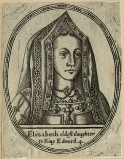 Elizabeth of York, after Unknown artist, probably 17th century - NPG D23839 - © National Portrait Gallery, London