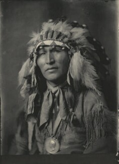 Native American Chief, by Cavendish Morton, 1903 - NPG  - © National Portrait Gallery, London
