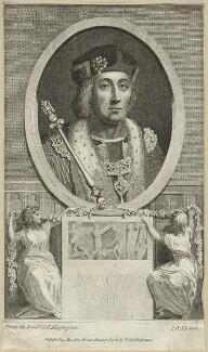 King Henry VII, by John Keyse Sherwin - NPG D23841