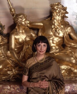 Madhur Jaffrey, by Barry Marsden, 6 October 1998 - NPG  - © National Portrait Gallery, London