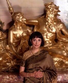 Madhur Jaffrey, by Barry Marsden, 6 October 1998 - NPG P718(14) - © National Portrait Gallery, London