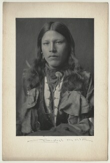 Native American, by Cavendish Morton - NPG x128853