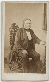 John Bright, by Maujean, early 1860s - NPG x46994 - © National Portrait Gallery, London