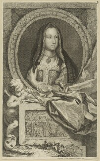 Elizabeth of York, published by John & Paul Knapton, published 1747 - NPG D23852 - © National Portrait Gallery, London