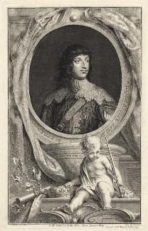 William Russell, 1st Duke of Bedford, by Jacobus Houbraken, after  Sir Anthony van Dyck - NPG D31613