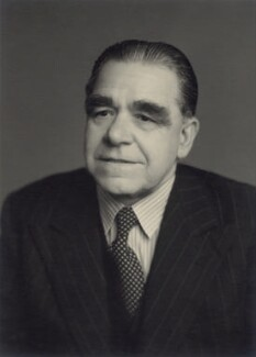 Sir Richard Coppock, by Walter Stoneman - NPG x166740
