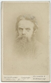 William Holman Hunt, by Elliott & Fry - NPG x11987
