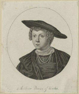 John (or Hans), Prince of Denmark engraved as Arthur, Prince of Wales, after Unknown artist - NPG D23865