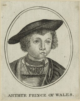 John (or Hans), Prince of Denmark engraved as Arthur, Prince of Wales, after Unknown artist - NPG D23867