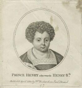 Prince Henry aftwerwards King Henry VIII, published by William Richardson - NPG D23868