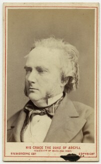 George Douglas Campbell, 8th Duke of Argyll, by London Stereoscopic & Photographic Company, circa 1873 - NPG x32935 - © National Portrait Gallery, London