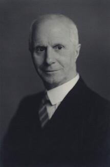 Sir Leonard Wilfred James Costello, by Walter Stoneman - NPG x166755