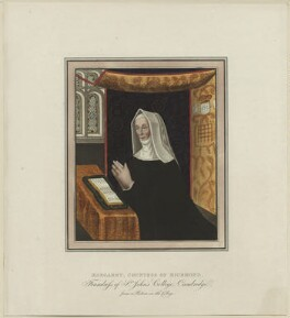 Lady Margaret Beaufort, Countess of Richmond and Derby, after Unknown artist - NPG D23873