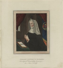 Lady Margaret Beaufort, Countess of Richmond and Derby, after Unknown artist - NPG D23874