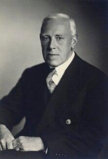 Sir James Temple Cotton, by Walter Stoneman - NPG x166762
