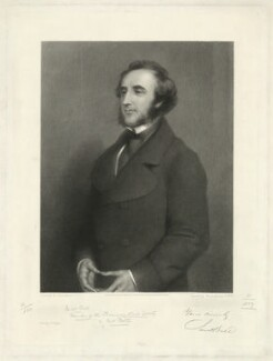 Jacob Bell, by Thomas Landseer, after  Edwin Landseer - NPG D31646