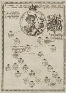 King Achaius of Scotland, after Unknown artist - NPG D23878