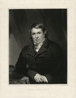 John Bell, by Samuel Cousins, after  Thomas Stewardson - NPG D31649