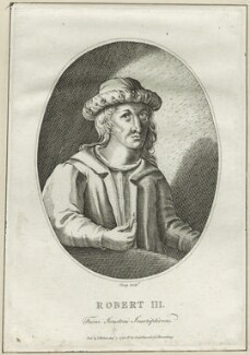 King Robert III of Scotland, by R. Clamp, published by  Isaac Herbert - NPG D23891
