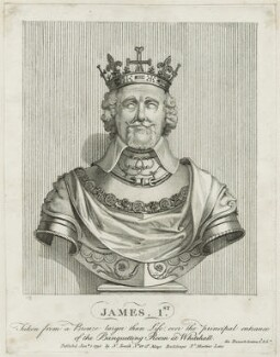 James I of Scotland, published by Nathaniel Smith - NPG D23893