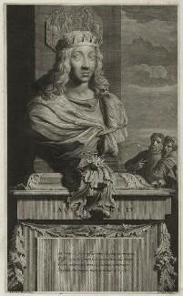 James IV of Scotland, by Gerard Valck, after  Adriaen van der Werff - NPG D23902