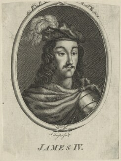 James IV of Scotland, probably by Isaac Taylor - NPG D23905