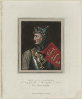 Henry of Lancaster ('Henry of Grosmont'), 1st Duke of Lancaster, published by Rudolph Ackermann - NPG D23912
