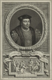 Edward Stafford, 3rd Duke of Buckingham, by Jacobus Houbraken - NPG D23913