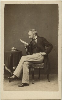 Alexander William Kinglake, by John Webber, 1863 - NPG x26066 - © National Portrait Gallery, London