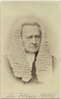 Sir Fitzroy Edward Kelly, by John & Charles Watkins, published by  Mason & Co (Robert Hindry Mason) - NPG x18982