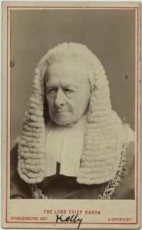 Sir Fitzroy Edward Kelly, by London Stereoscopic & Photographic Company - NPG x4963