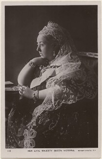 Queen Victoria, by Gunn & Stuart, published by  Rotary Photographic Co Ltd - NPG x13850