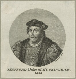 Edward Stafford, 3rd Duke of Buckingham, by William Sherlock, after  Hans Holbein the Younger - NPG D23914