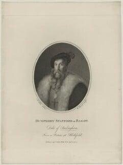Humphrey Stafford, Duke of Buckingham, by William Bond, published by  Philip Yorke, after  Joseph Allen - NPG D23915