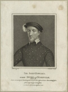 John Howard, Duke of Norfolk, by Schenecker, published by  Edward Harding, after  Silvester (Sylvester) Harding - NPG D23920