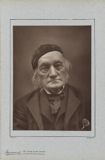 Sir Richard Owen, by Herbert Rose Barraud, published by  Richard Bentley & Son - NPG Ax5414