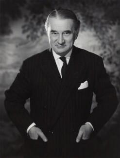 Harold Roxbee Cox, 1st Baron Kings Norton, by Walter Bird - NPG x166789