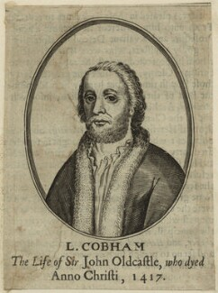 John Oldcastle, Lord Cobham, after Unknown artist - NPG D23934