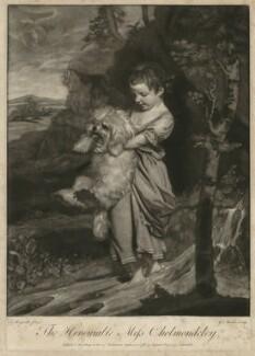 Hester Frances (née Cholmondeley), Lady Bellingham ('The Honourable Miss Cholmondeley'), by Giuseppe Filippo Liberati ('Joseph') Marchi, published by  Ryland and Bryer, after  Sir Joshua Reynolds - NPG D31656