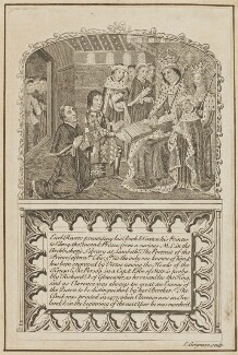 King Edward IV and others, by Grignion - NPG D23941
