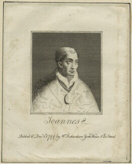 Pope John VIII or Pope Joan, published by William Richardson - NPG D23942
