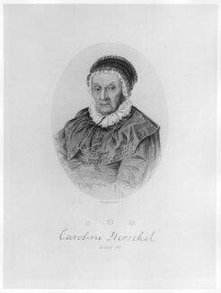 Caroline Lucretia Herschel, by Joseph Brown, after  Unknown artist - NPG D9005