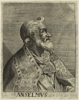 St Anselm, by George Glover - NPG D23953
