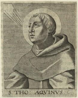 St Thomas Aquinas, by George Glover - NPG D23954