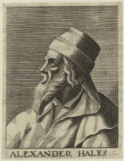 Alexander of Hales, by George Glover - NPG D23955