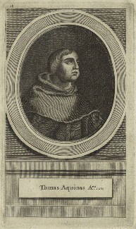 St Thomas Aquinas, after Unknown artist - NPG D23956
