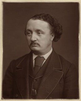 Sir John Stainer, by Lock & Whitfield - NPG x18668